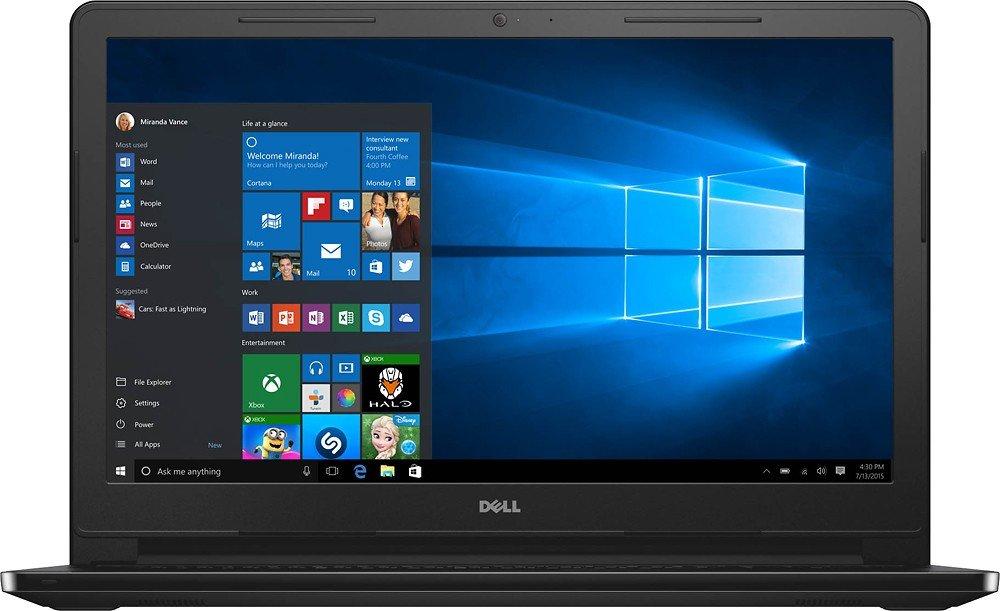 Dell Inspiron I3558-5501BLK 15.6″ Touchscreen HD Laptop - Best Laptop for Teachers