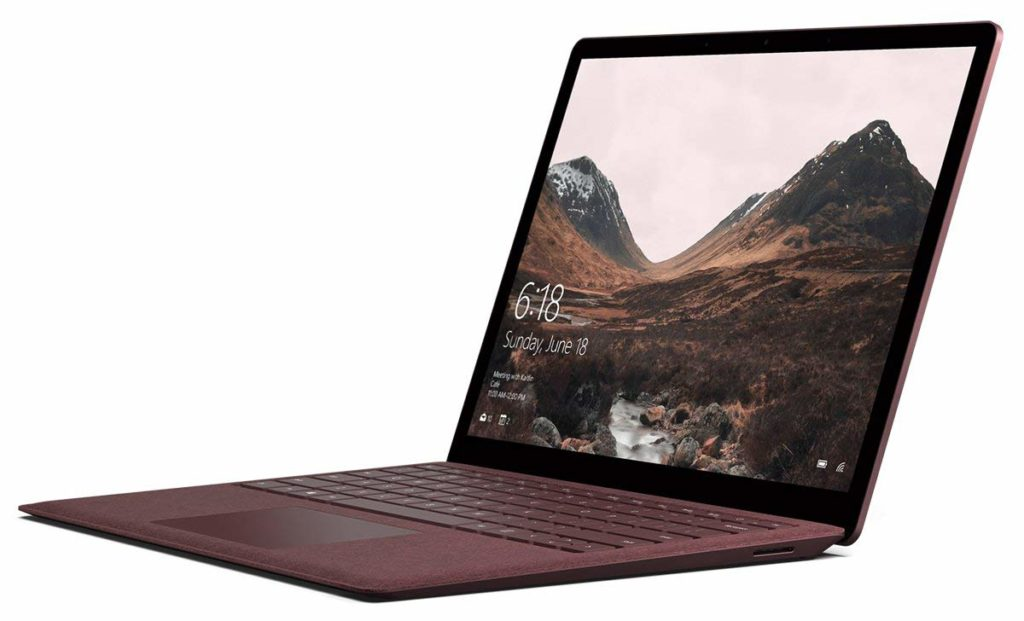 Microsoft Surface Laptop – 13″ QHD